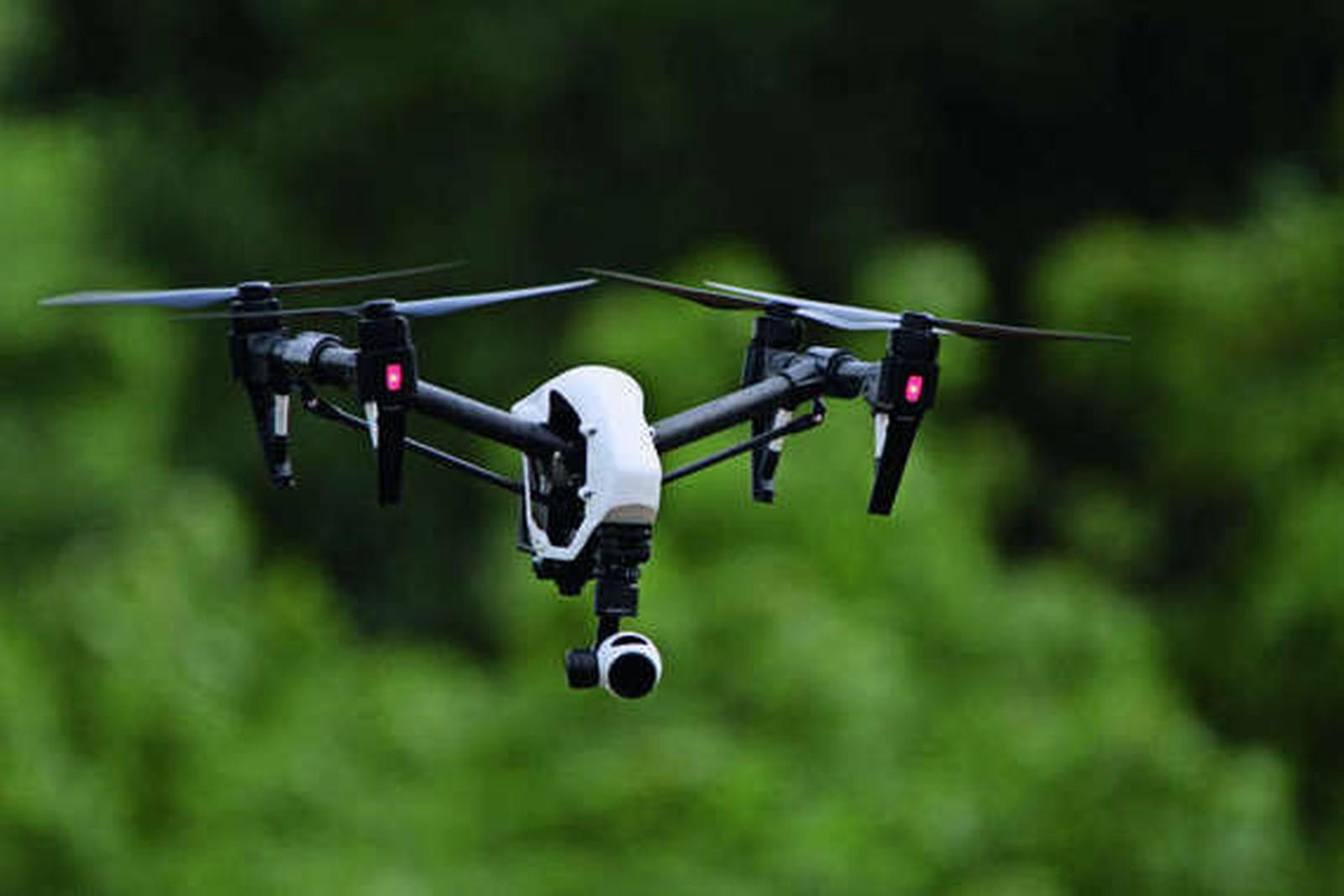 Drohnen helfen beim wirtschaftlichen Betrieb von Gewinnungsstätten.