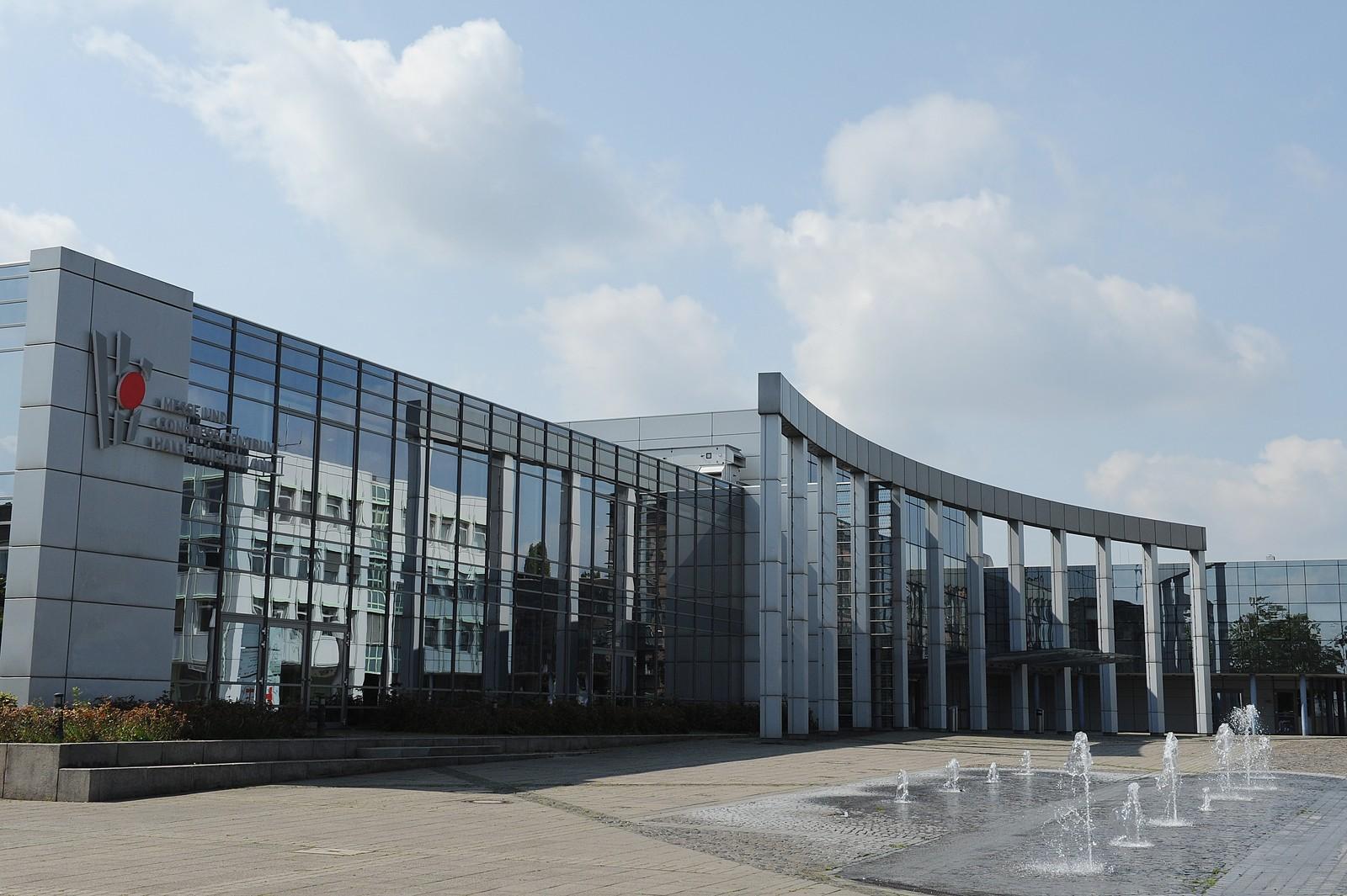 Veranstaltungsort der Asphaltstraßentagung ist das Congress Centrum der Halle Münsterland