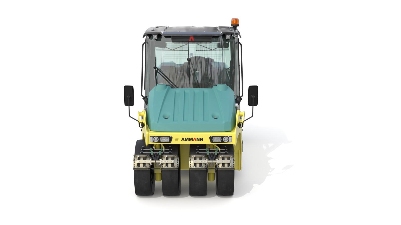 Mit dem modularen, leicht zu befüllenden Ballastsystem lässt sich das Gewicht der Maschine mit Hilfe eines Gabelstaplers innerhalb kürzester Zeit variabel von 9 bis auf 28 t anpassen