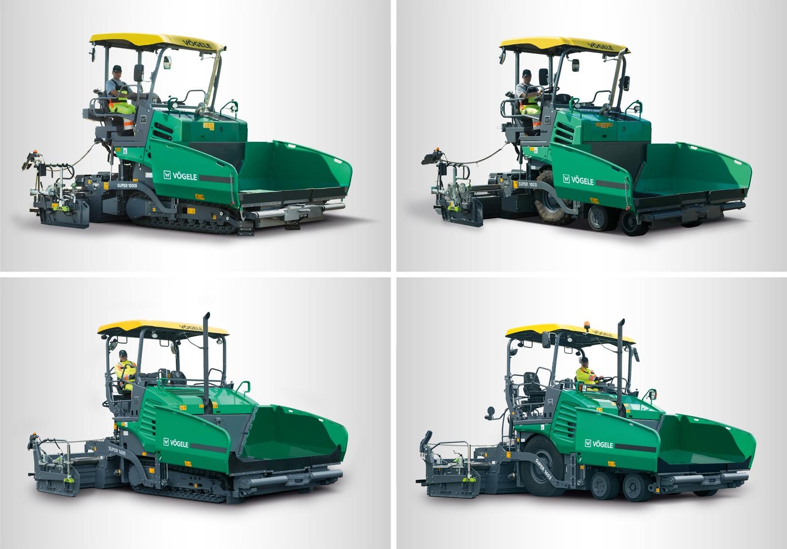 Alle vier neuen Classic-Line-Maschinen sind mit dem intuitiven und übersichtlichen Bedienkonzept ErgoBasic ausgestattet