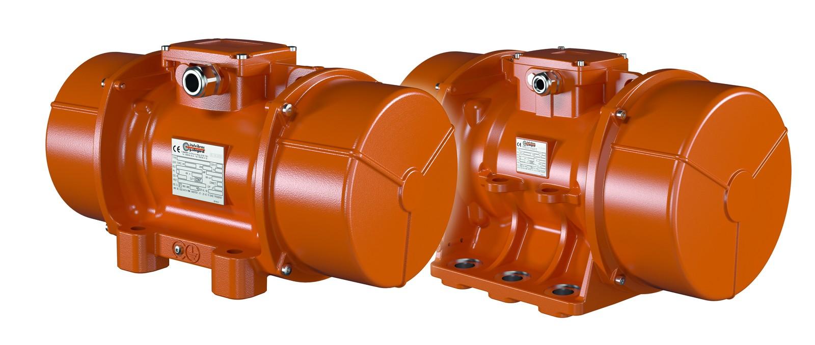 Außenrüttler (Unwuchtmotoren) sind das Spezialgebiet von Italvibras.