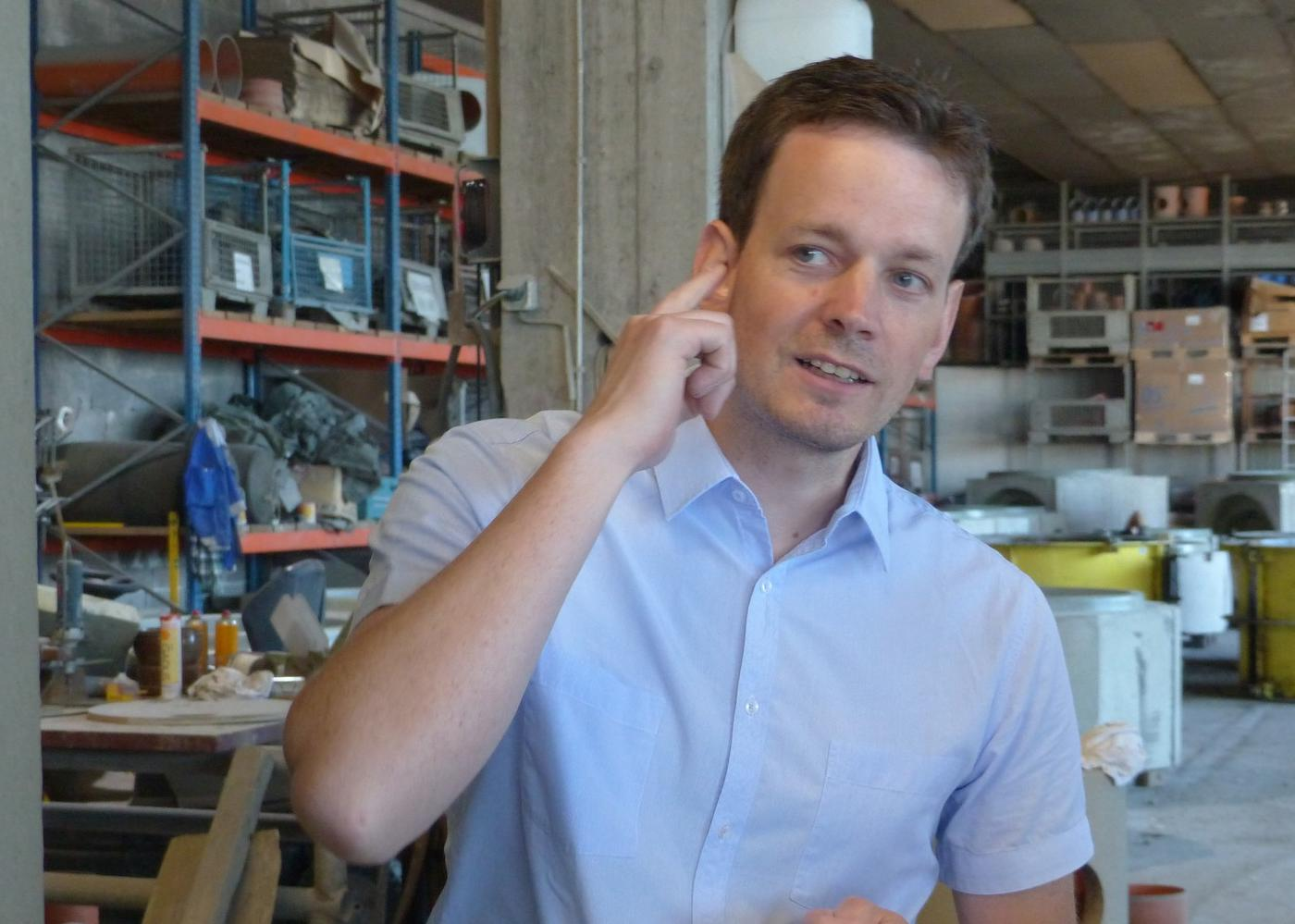 Fabian Fasel hat das Ohr am Puls der Zeit und kommt so im Austausch mit Stefan und Thomas Fasel auf neue Produktideen.
